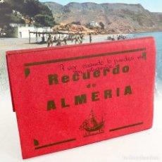 Postales: BLOC 10 POSTALES RECUERDO DE ALMERIA. AÑOS 60. Lote 178063059