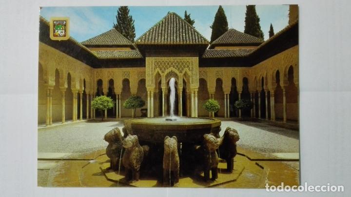 POSTAL GRANADA, ALHAMBRA PATIO DE LOS LEONES (Postales - España - Andalucia Moderna (desde 1.940))