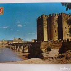 Postales: POSTAL. 760. CÓRDOBA. PUENTE ROMANO Y FORTALEZA CALAHORRA. ED. SUBIRATS CASANOVAS.. Lote 178184278