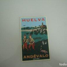 Postales: POSTAL HUELVA ANDEVALO. Lote 178334110