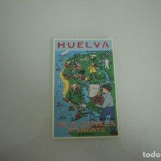 Postales: POSTAL HUELVA ISLA CANELA AYAMONTE. Lote 178334186