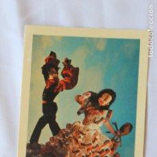 Postales: POSTAL ANDALUCIA, TRAJE TIPICO REGIONAL, MUÑECOS NISTIS, Nº 2. Lote 178399750