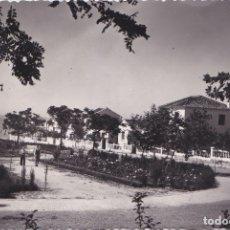 Postales: MARBELLA (MALAGA) - UN BELLO RINCON DEL PARQUE DE JOSE ANTONIO CON EL MEDITERRANEO AL FONDO. Lote 178631941