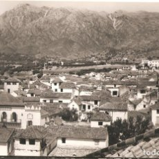 Postales: MARBELLA (MÁLAGA) VISTA DESDE LA PARROQUIA CON LA CONCHA A LA IZQUIERDA.. Lote 178632358