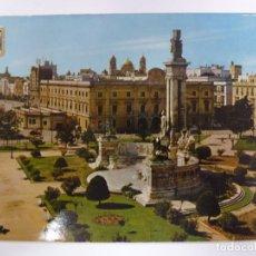 Postales: POSTAL. 1117. CÁDIZ. PLAZA DE ESPAÑA. MONUMENTO A LAS CORTES. ED. SUBIRATS CASANOVAS. NO ESCRITA. . Lote 178779682