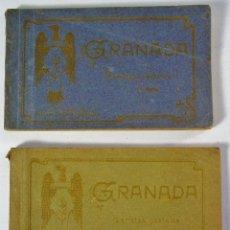 Postales: 2 BLOCS DE POSTALES DE GRANADA. ENRIQUE LINARES 1ª Y 2ª SERIE. MÁS 5 POSTALES. Lote 178784356
