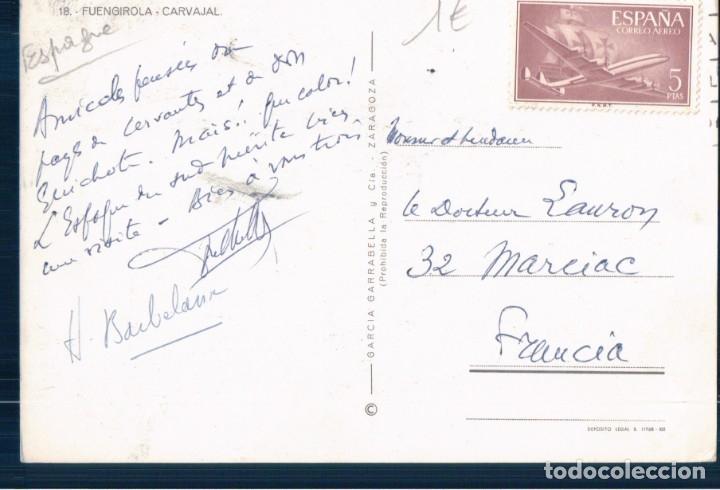 Postales: postal Fuengirola. Malaga. Carvajal Edc. G. Garrabella - Zaragoza nº 18 - Foto 2 - 178825048