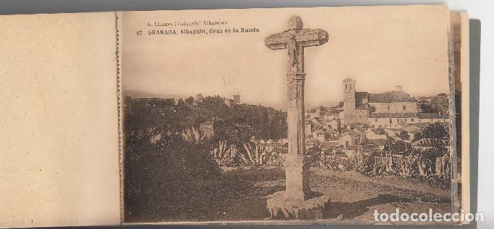 Postales: RECUERDO DE GRANADA, BLOK DE 25 POSTALES ANTIGUAS II SERIE, ABELARDO LINARES, Envío gratis - Foto 2 - 178828400