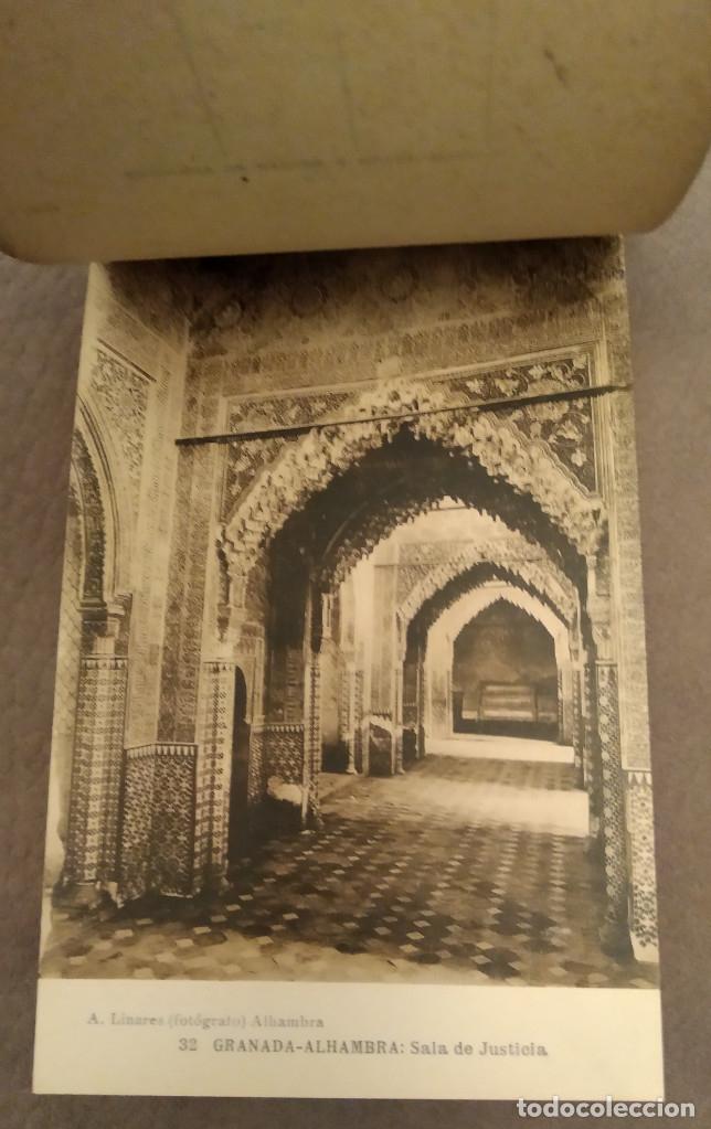Postales: RECUERDO DE GRANADA, BLOK DE 25 POSTALES ANTIGUAS II SERIE, ABELARDO LINARES, Envío gratis - Foto 3 - 178828400