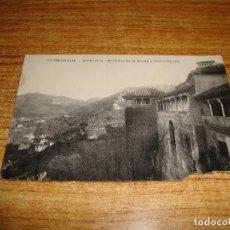 Postales: (ALB-TC-200) GRANADA ALHAMBRA MIRADOR DE LA REINA Y SACRO MONTE. Lote 178908323