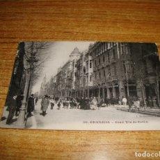 Postales: (ALB-TC-200) GRANADA GRAN VIA DE COLON. Lote 178908735