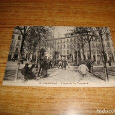 Postales: (ALB-TC-200) GRANADA PLAZA DE LA TRINIDAD. Lote 178908750