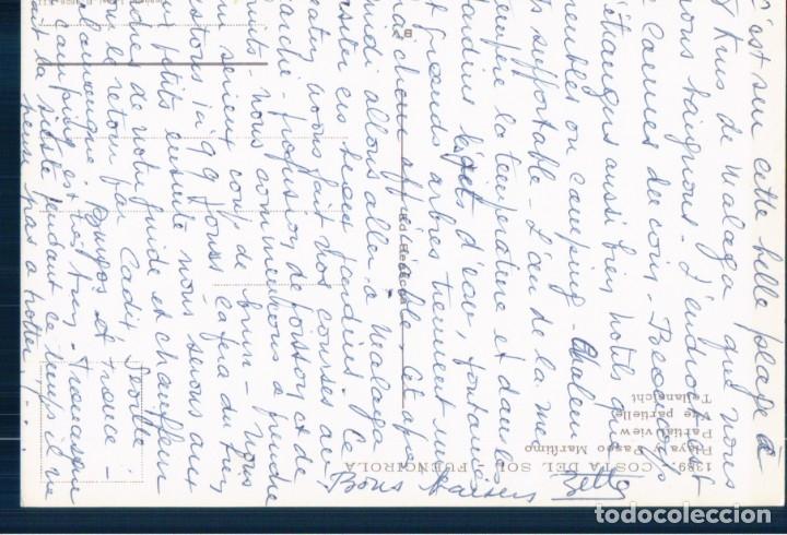 Postales: POSTAL DE MÁLAGA - FUENGIROLA, PLAYA Y PASEO MARÍTIMO. 1389 BEASCOSA - Foto 3 - 178912682