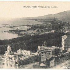 Postales: POSTAL MÁLAGA VISTA PARCIAL DE LA CIUDAD . Lote 178949726
