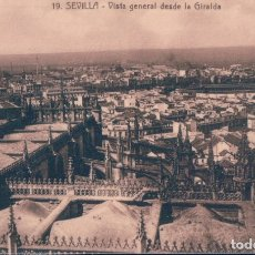 Postales: POSTAL SEVILLA - VISTA GENERAL DESDE LA GIRALDA 19 - ABELARDO LINARES. Lote 178995142
