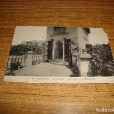 Postales: (ALB-TC-202) POSTAL GRANADA ALHAMBRA EXTERIOR DE LA MEZQUITA. Lote 178996776