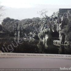 Cartes Postales: CÁDIZ. PARQUE GENOVÉS. LA CASCADA. ED. AISA. Lote 179156737