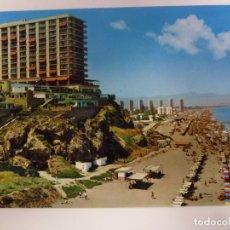 Postales: POSTAL. 1593. TORREMOLINOS. COSTA DEL SOL. HOTEL Y PLAYAS DE LA ROCA. POSTALES COSTA DEL SOL. . Lote 179166180