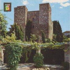 Postales: (47) MALAGA. ALCAZABA. PATIO DE ARMAS. PUERTA DE GRANADA. Lote 179172156