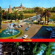 Postales: SEVILLA - ACORDEON CON 12 POSTALES - FOTOS ADIC.. Lote 179173738