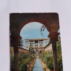 Postales: TARJETA POSTAL - GRANADA - JARDIN DEL GENERALIFE 3135. Lote 179179100