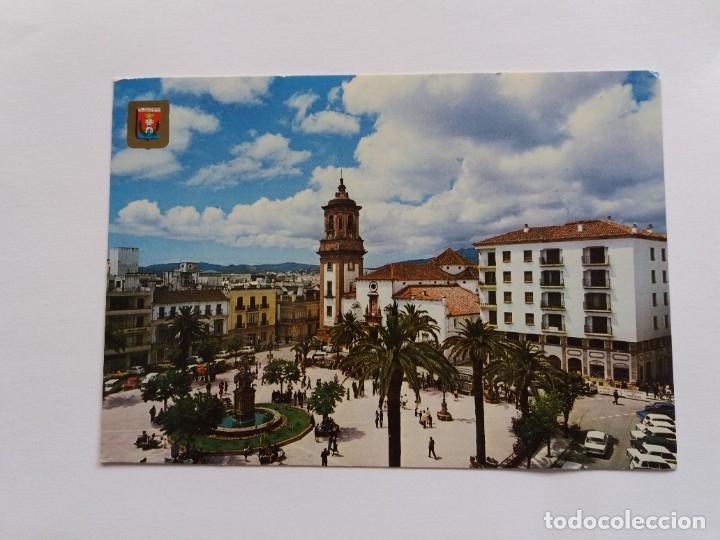 TARJETA POSTAL - ALGECIRAS CADIZ - PLAZA GENERALISIMO 176 (Postales - España - Andalucia Moderna (desde 1.940))