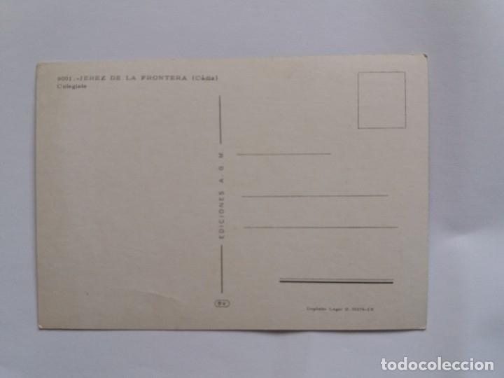 Postales: TARJETA POSTAL - JEREZ DE LA FRONTERA CADIZ 9001 - COLEGIATA - Foto 2 - 179182332