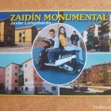 Postales: LOTE POSTALES ZAIDÍN MONUMENTAL- JAVIER LONGOBARDO EXP. DIPUTACIÓN GRANADA 2000-2001 CATALOGO. Lote 179186670