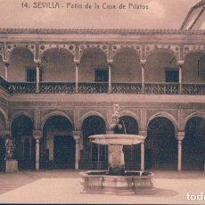 Postales: POSTAL SEVILLA. PATIO DE LA CASA DE PILATOS. (ABELARDO LINARES) Nº 14. Lote 179201622