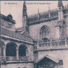 Postais: POSTAL DE GRANADA - EXTERIOR DE LA CAPILLA REAL.16 LINARES. Lote 179309676