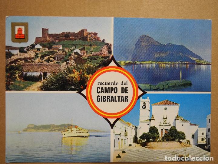 CAMPO DE GIBRALTAR. DIVERSOS ASPECTOS. ED. SUBIRATS CASANOVAS 3 ESCRITA (Postales - España - Andalucia Moderna (desde 1.940))