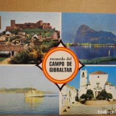 Postales: CAMPO DE GIBRALTAR. DIVERSOS ASPECTOS. ED. SUBIRATS CASANOVAS 3 ESCRITA. Lote 179375721