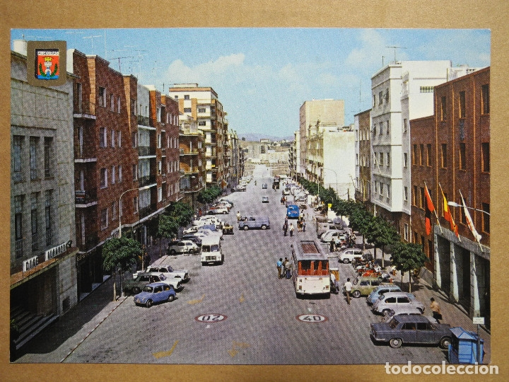 ALGECIRAS. AVENIDA DEL GENERALÍSIMO FRANCO. ED. SUBIRATS CASANOVAS 70. NUEVA (Postales - España - Andalucia Moderna (desde 1.940))