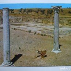 Postales: POSTAL. 4. SEVILLA ITÁLICA. VISTA PARCIAL DE RECINTO. COLUMNAS Y MOSAICOS. ED. JRC. NO ESCRITA. . Lote 179396836
