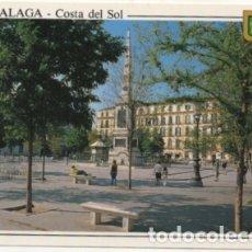 Postales: POSTAL DE MALAGA. PLAZA DE LA MERCED P-ANMA-968. Lote 179948226