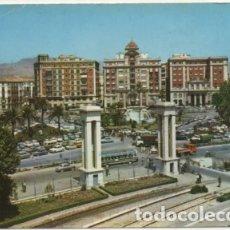 Postales: POSTAL DE MALAGA. PLAZA DE QUEIPO DE LLANO P-ANMA-969. Lote 179948268