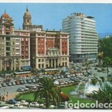 Postales: POSTAL DE MALAGA. PLAZA DE QUEIPO DE LLANO Y ACERA DE LA MARINA P-ANMA-970. Lote 179948322