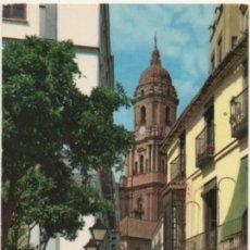 Postales: POSTAL DE MALAGA. CALLEJA Y LA CATEDRAL Nº 1034 P-ANMA-973. Lote 179948450
