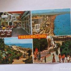 Postales: TARJETA POSTAL - COSTA DEL SOL - TORREMOLINOS - VISTAS DIVERSAS. Lote 179960048
