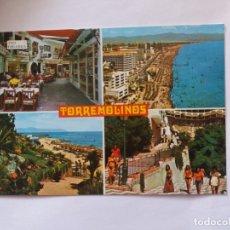 Postales: TARJETA POSTAL - COSTA DEL SOL - TORREMOLINOS - VISTAS DIVERSAS. Lote 179960083