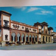Postales: TARJETA POSTAL - JEREZ DE LA FRONTERA CADIZ - ESTACION FERROCARRIL. Lote 179961137