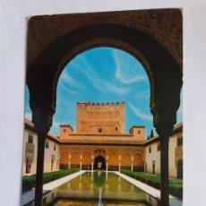 Postales: TARJETA POSTAL - GRANADA - ALHAMBRA - PATIO DE LAS ARRAYANES 1239. Lote 179963277