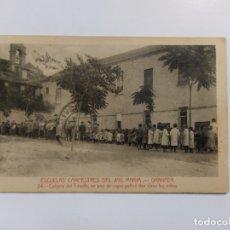 Postales: GRANADA-ESCUELAS CAMPESTRES AVE MARIA-COLONIA DEL TRIUNFO-24-ED·M.BARREIRO-VER REVERSO-(63.253). Lote 180033913