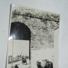 Postales: ANTIGUA FOTOGRAFIA DE CORDOBA, PUERTA DE ALMODOVAR, MIDE 12,3 X 17,5 CMS.. Lote 180087753
