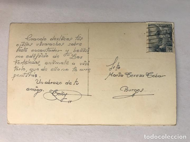 Postales: GRANADA - ALHAMBRA. Postal No.37, Fortalezas. SIN IDENTIFICAR EDITOR (h.1950?) Circulada - Foto 2 - 180094780