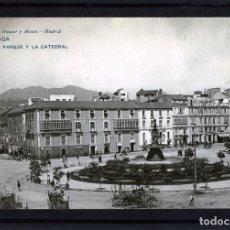 Postales: MALAGA-POSTAL DE HAUSER Y MENET-EL PARQUE Nº836-VER FOTO ADICIONAL DEL REVERSO-LEER DESCRIPCIÓN .. Lote 180105140