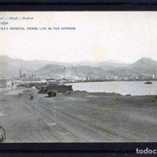 Postales: MALAGA-POSTAL HAUSER Y MENET-VISTA DESDE LOS ALTOS HORNOS Nº838-VER FOTO ADICIONAL-LEER DESCRIPCIÓN.. Lote 180105535