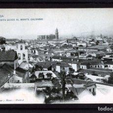 Postales: MALAGA-POSTALDE HAUSER Y MENET-VISTA DESDE EL MONTE CALVARIO Nº181-VER FOTO ADICIONAL DEL REVERSO .. Lote 180151687