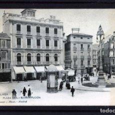 Postales: MALAGA-POSTAL DE HAUSER Y MENET-PLAZA DE LA CONSTITUCIÓN Nº180-VER FOTO ADICIONAL-LEER DESCRIPCIÓN .. Lote 180151850