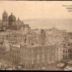 Postales: TARJETA POSTAL CÁDIZ: VISTA PARCIAL.- HAUSER Y MENET./ PRINCIPIOS DE S.XX.. Lote 180154705